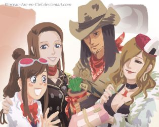 Happy ending - AA real time by Pinceau-Arc-en-Ciel