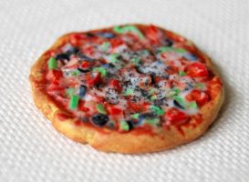 Fimo Pizza by Madizzo
