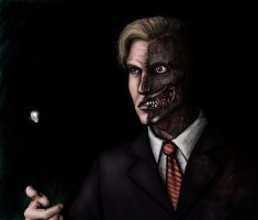 Harvey Two Face by thehotmageaeris