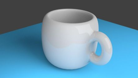 Ceramic Cup by DollarAkshay