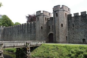 Cardiff Castle 4 by CAStock