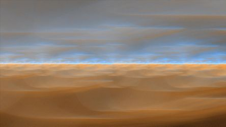 Where The Dunes Meet The Sky by cmcougar