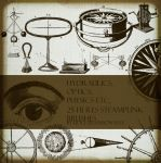 25 Steampunk PS Brushes by FidgetResources