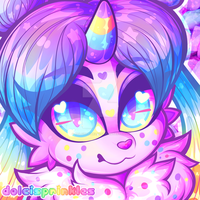 Icon: Sweet Monsterbun-Vday Smarties Parfait by Dolcisprinkles