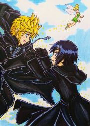 Happy Roxas x Xion Day: Secrets of Neverland by dagga19