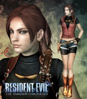 RESIDENT EVIL DC: CLAIRE REDFIELD by KitMartin