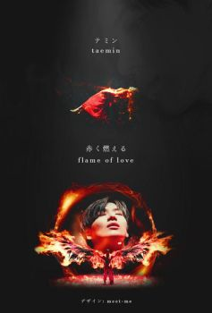 TAEMIN // FLAME OF LOVE POSTER | 20170406 by Meet-Me