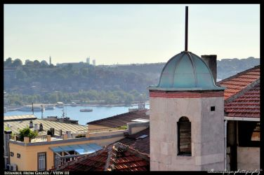 Istanbul from Galata III by BeYounique