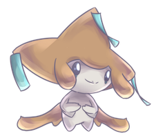 Jirachi Commission by AutobotTesla