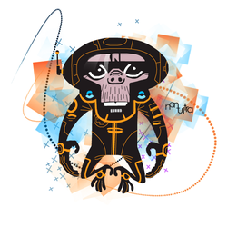 Space Monkey by vaRn1