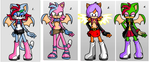 Characters up for grabs by Power1x