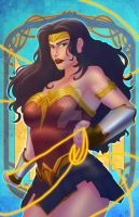 Wonder Woman Fan art by allengeneta