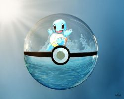Water Type (squirtle only) by DizzyMouse