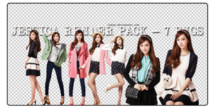 140215 Jessica render pack :'x by Luhye