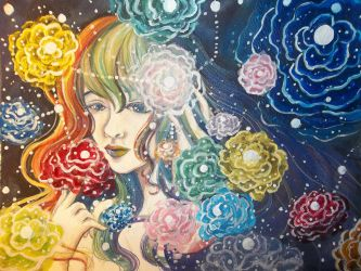 Cosmic Roses by Delight046