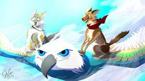 Wings of Adventure - Gift for Skailla by EpicSaveRoom