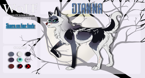.:WoLF:. Dianna - Loner app - by Nafsi-chan