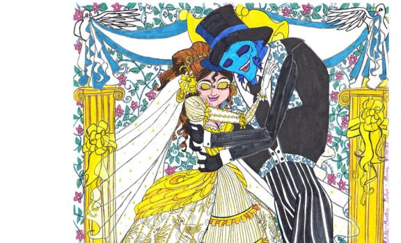 Mariage Couleurs Fin by Dream-Angel-Artista