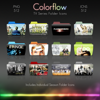 Colorflow TV Folder Icons 2 by Crazyfool16