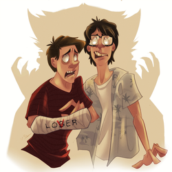 I.T - Eddie and Richie by LameReaper