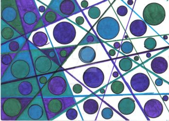 abstract circles by The-Immortal-Iris