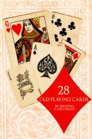 28 Old Playing Cards by mellowmint