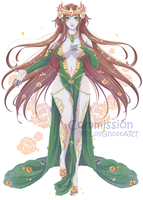 Commission- Queen Gardeia of Gundalia by LoliGhost