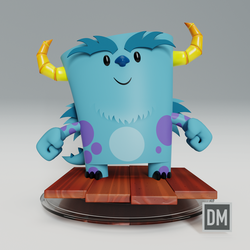 3D Sully (Blender) by DanielMead