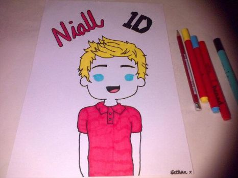 Niall Horan 1Direction by artistbee8