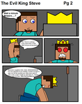 The Evil King Steve pg 02 by BalloonChey