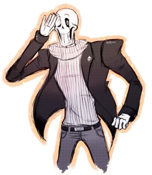 Gaster Pap by Rascal-Rose