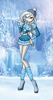 Gift 8: Winter outfit by ShiningStella