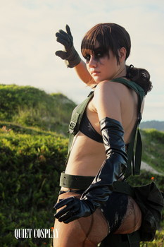 Quiet - A Sniper deprived of her Words. by QuietCosplay