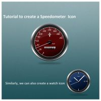 SpeedGauge in Photoshop by rjoshicool