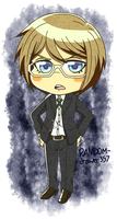 Chibi Togami by RANDOM-drawer357