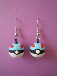 Great Ball Earrings by Omonomopoeia