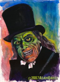 Lon Chaney after Midnight by bakerchild84