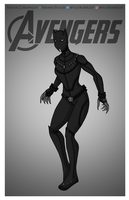 Avengers - Black Panther Redesigned by Femmes-Fatales