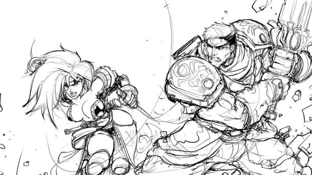 Battle Chasers by DarrenGeers