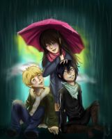 Noragami - Umbrella Buddies by Checker-Bee