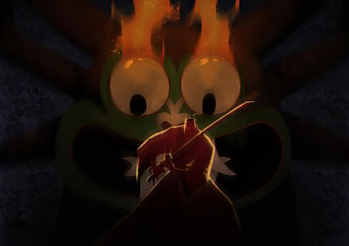 Samurai Jack Mass Extinction by drazebot