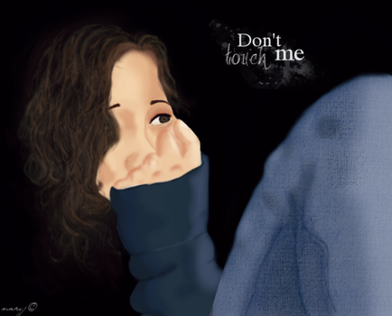 Don't touch me - Color by MsBean