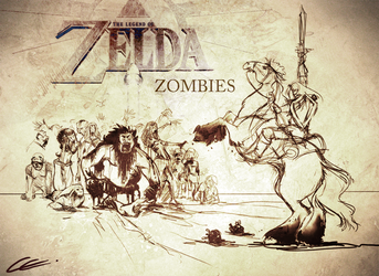 The Legend of Zombies WIP by Zita52