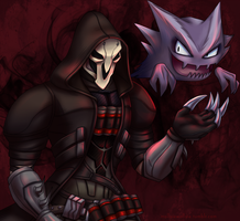 Reaper and Haunter by SilverSkittle