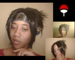 Sasuke ( Wig preview progress) by BriBarnes