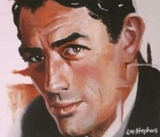 Gregory Peck ACEO by sullen-skrewt