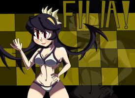 Filia ! (Skull-Girls) by Alexander-LR