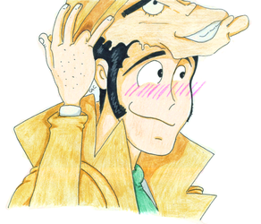 Lupin got caught by InspectorZenigata