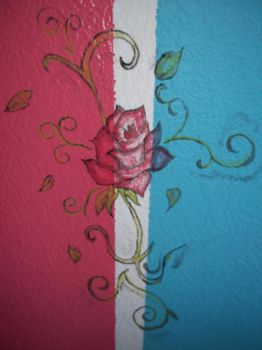 Wall Rose by Xipea