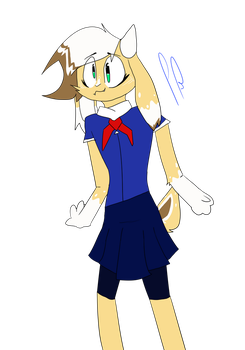 Chloe the goat -AT- by PlatoBaby